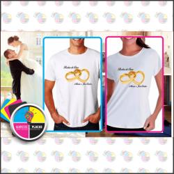 Camisa Personalizada Poliéster ou Algodão