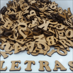 Kit Alfabeto Completo 26 Letras + Numeros 0 Á 9 com 10 Cm