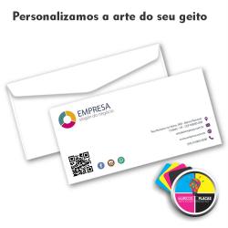 Envelope Ofício Personalizado   23cms x 11cm