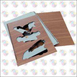 Cardápio Personalizado Capa de A.C.M.  8 páginas